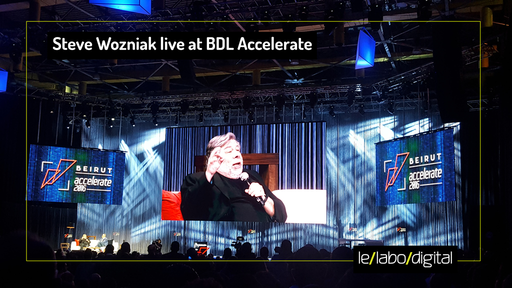 "The ""Woz"" at BDL Accelerate 2016"